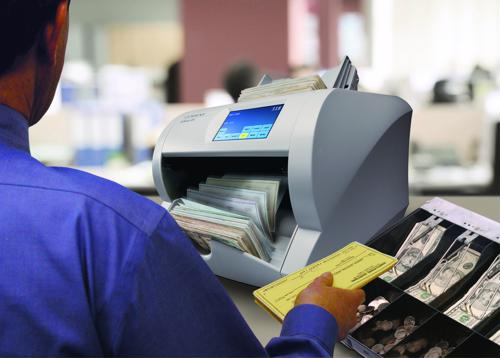Dual-purpose cash and check counters a central part of improving local governments