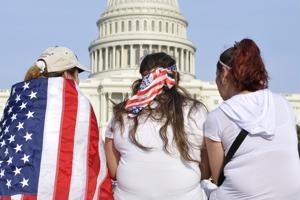 A study shows unchanging views on immigration from Americans.
