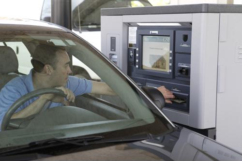 ATMs help keep bank branches relevant