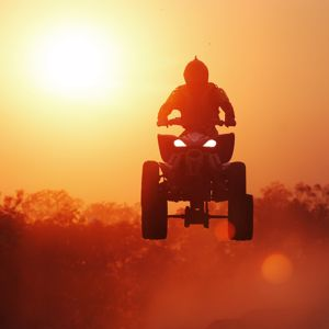 ATV tires that are not meant  for the pavement may be to blame for the increase in ATV crashes.