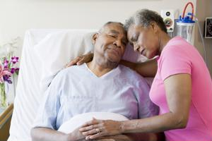 According to a new study, elderly patients are often not consulted on their admittance to intensive care units by their doctors.