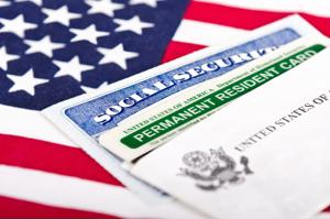 Adjustment of status grants U.S. citizenship to immigrants without having to go abroad to apply for a visa.