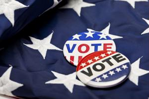 An elderly immigrant voted for the first time after becoming a U.S. citizen in fall 2014.