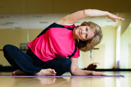 As people age, they tend to get up and move less.