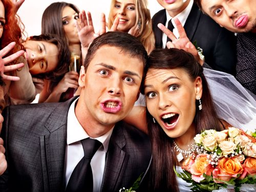 Be choosy about your bridal party.