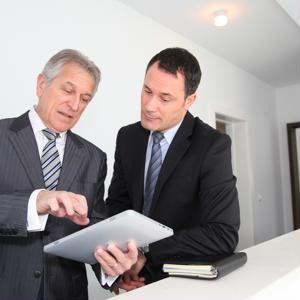 Businessowners should ensure their older staff members are working in a safe and sound office.