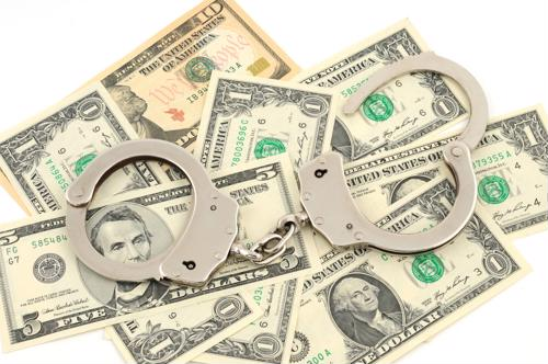 Pennsylvania Police use money counters to tally seized counterfeit bills