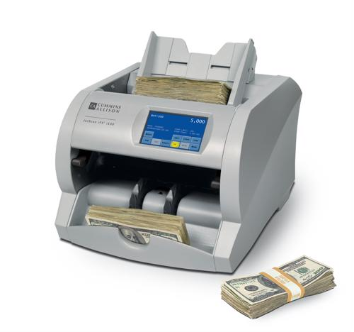 Cash counters help minimize the cost of counterfeiting