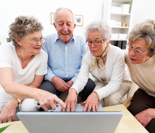 Changes in a senior's social activity can signal health declines.