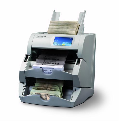 Higher casino revenues necessitate money and ticket counters