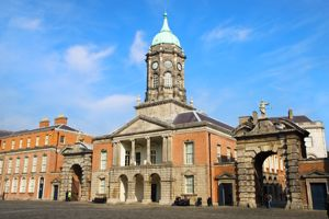 Close up view of Dublin Castle, Dublin, Ireland -  Travel News
