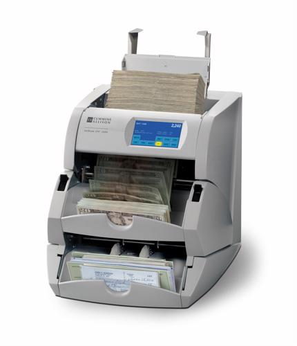Business-facing companies benefit from dual-purpose cash and check scanners