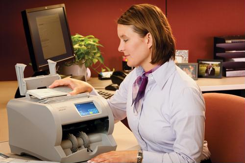 Increase efficiency with cash and check scanners