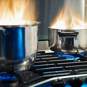 Fire departments responded to approximately 156,600 cooking-related fires between 2007 and 2011.