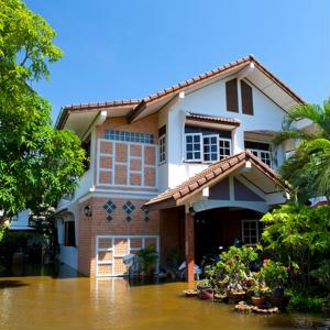 Floods can cause serious amounts of damage to residential properties.