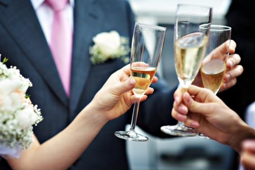 Give a great maid of honor toast.
