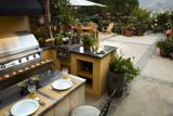 Hamptons real estate enhanced by inclusion of outdoor kitchens