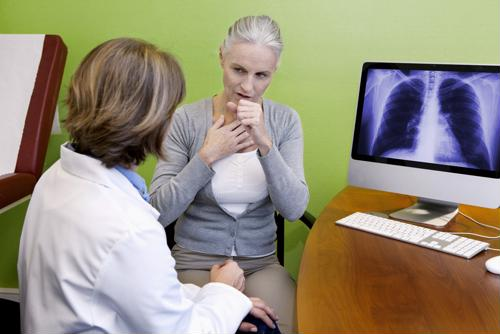 Shortness of breath may indicate health problems