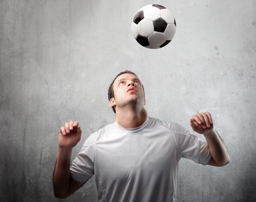 Heading soccer balls contributes to brain damage