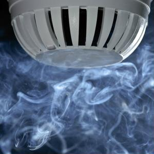 In addition to swapping out the batteries, homeowners should regularly test their smoke detectors.