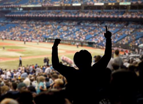 Installing Wi-Fi at stadiums lets fans easily share their favorite moments during the game.