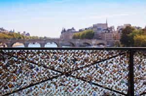 Locking love in Paris and beyond