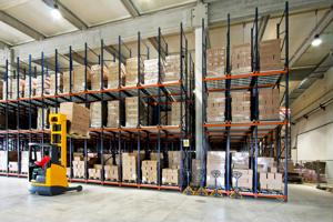 Logistics industry focusing on productivity