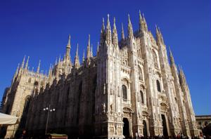 Milan Cathedral is a must see landmark in Ita