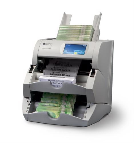 Money and ticket counters help streamline casino employee training