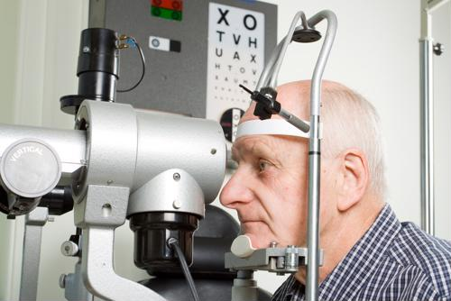 New research shows that a relatively simple eye test may be able to detect symptoms of Parkinson's disease before they actually appear.
