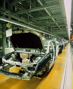 North American automakers produced at high capacity in 2012