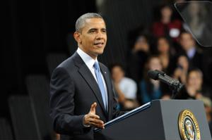Obama addressed students at Del Sol High School in Las Vegas about his plan for immigration reform.