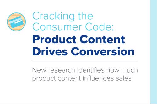 Our data shows that product content influences sales.