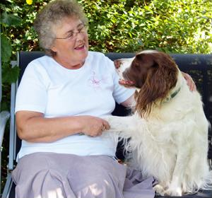 Patients and pets can help each other