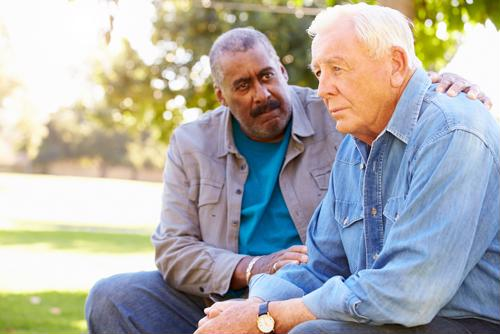 Poor stress management and chronic depression can lead to a number of health problems for seniors, including cognitive decline.