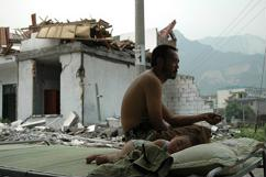 Red Cross helps those affected by the earthquake in Lushan, China