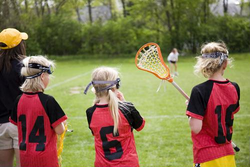 Researchers from Brown University discovered that female lacrosse players may need more protection than they have now.