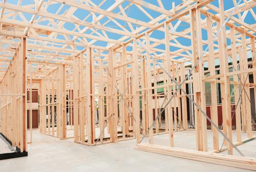 Residential construction spending rose year over year