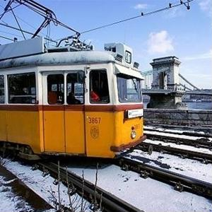 Ride the trams in Budapest for a uniquely European experience