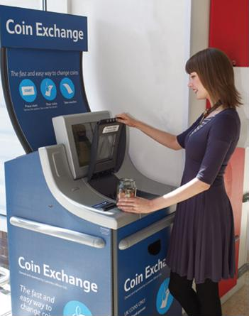 Self-service coin counters can draw traffic to the grocery store