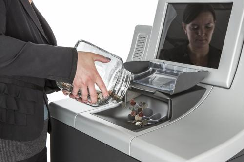 Self-service coin counting machines help businesses improve speed of service