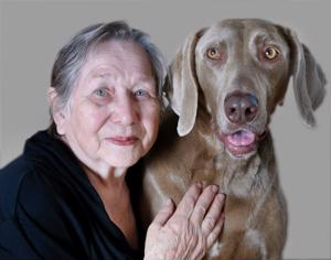 Seniors in hospice care may benefit from pet companions