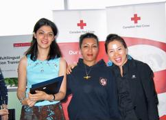 SmartStart students receive Red Cross Rescuer Award