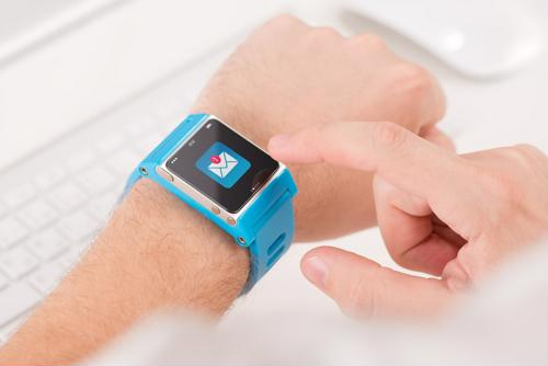 Smartwatches can increase warehouse productivity.