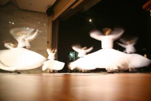 Spin with the whirling dervishes