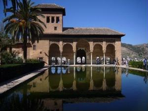 The Alhambra is a popular tourist stop in Andalusia
