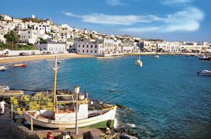 The Cyclades are a staple of Greece tours