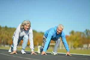There are many physical health benefits to exercise for the elderly, but a new study shows there is a growing number of mental health benefits as well.