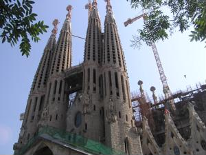 Though not finished, Sagrada Famila is an stunning example of Gaudi's work