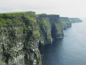 Toe the cliffs of Moher